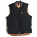 Melton x down vest