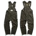 Herringbone overalls