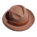 Buttero Leather Belt Hat