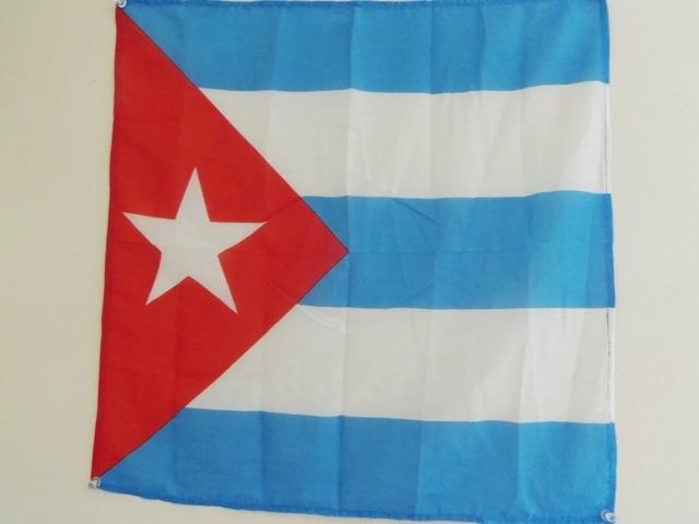 キューバ国旗ハンカチ
