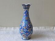 【伝統美術工芸品】ミーナーカーリー 花瓶 ZA3275