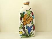 花模様 陶器の花瓶(三角形) ZA461