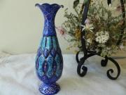 【伝統美術工芸品】ミーナーカーリー 花瓶 ZA613
