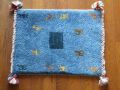 遊牧民のじゅうたん ギャッベ(玄関マットサイズ小 約60×40cm) 1532