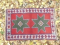 【セミ・オールド】グーチャン絨毯(玄関マットサイズ中) 163-417
