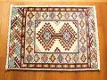 【セミ・オールド】トルキャマン絨毯(玄関マットサイズ中) 19
