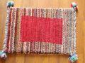 遊牧民のじゅうたん ギャッベ(玄関マットサイズ小 約60×40cm) 1974
