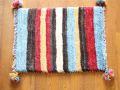 遊牧民のじゅうたん ギャッベ(玄関マットサイズ小 約60×40cm) 2131