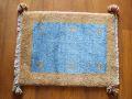 遊牧民のじゅうたん ギャッベ(玄関マットサイズ小 約60×40cm) 2560