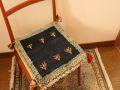 ギャッベ(正方形ミニサイズ) 遊牧民のじゅうたん 5046