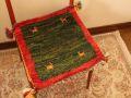 ギャッベ(正方形ミニサイズ) 遊牧民のじゅうたん 5050