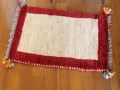 遊牧民のじゅうたん ギャッベ(玄関マットサイズ小 約60×40cm) 5378