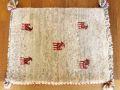 遊牧民のじゅうたん ギャッベ(玄関マットサイズ小 約60×40cm) 5379