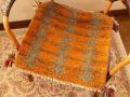 ギャッベ(正方形ミニサイズ) 遊牧民のじゅうたん 7570