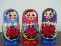 今ふうマトリョーシカ(3種)☆セミョーノフ☆7ピースマトリョーシカ☆ロシア雑貨