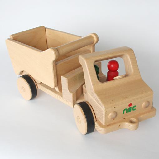 木のおもちゃ nic社のダンンプカー