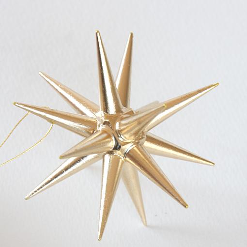 クリスマスツリー星のオーナメント