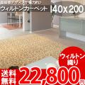 【送料無料】■AS 高級感溢れるデザイン♪ヨーロピアンカーペット (ラグ 140x200) 絨毯●アスグレース全3色