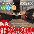 【送料無料】■AS 環境に優しい!アスチャールズ100 ポリプロピレン100%ラグ♪ふんわり 200x200 全3色