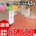 【送料無料】■AS ふわふわソフトたっち カーペット♪本間4.5畳(286x286)アスブルース●上質な光沢感●全6色絨毯