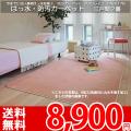 【送料無料】■AS ふかふかした踏み心地♪撥水カーペット 江戸間2畳(176x176)アスソレイユ●全6色絨毯・日本製