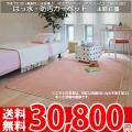 【送料無料】■AS ふかふかした踏み心地♪撥水 カーペット 本間6畳(286x382)アスソレイユ●全6色絨毯・日本製