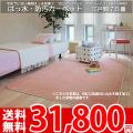 【送料無料】■AS ふかふかした踏み心地♪撥水カーペット 江戸間7.5畳(261x440)アスソレイユ●全6色絨毯・日本製