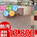 【送料無料】■AS カラーバリエーション豊富♪消臭抗菌エコカーペット 中京間2畳(182x182) アスシャリオ2