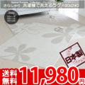 洗えるラグ パームス 190×240
