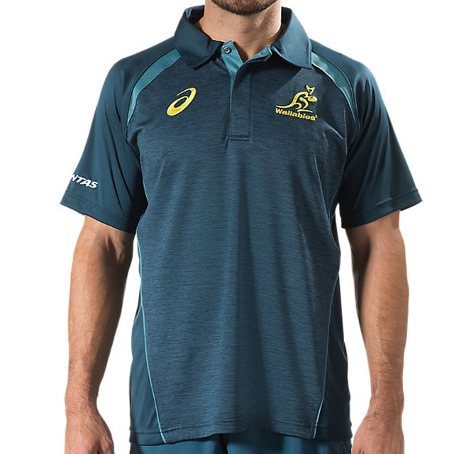 オーストラリア代表 ワラビーズ 2017 メディアポロシャツ