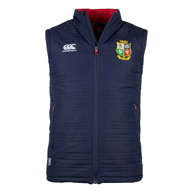 British & Irish Lions 2017 Thermoreg Padded ジレット
