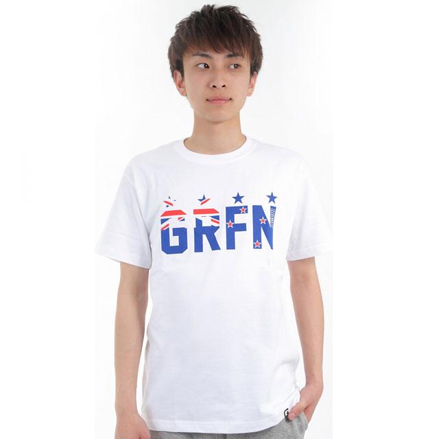 グリフィン GRFN フラッグTシャツ ホワイト
