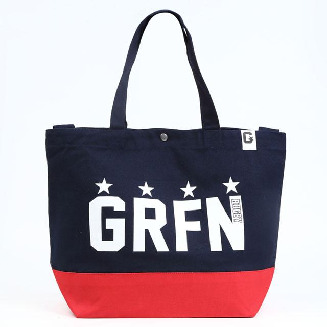 グリフィン GRFN スイッチング トート ネイビー×レッド