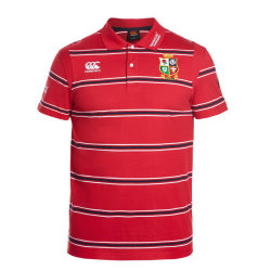 British & Irish Lions 2017 ストライプポロシャツ
