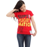 SUP2 RUGBY NATION レディスTシャツ JPN