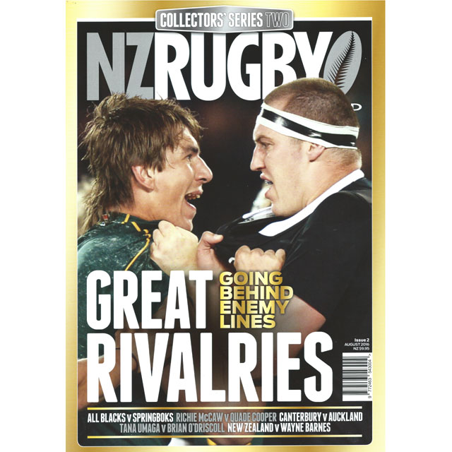 NZ RUGBY COLLECTORS SERIES No.2