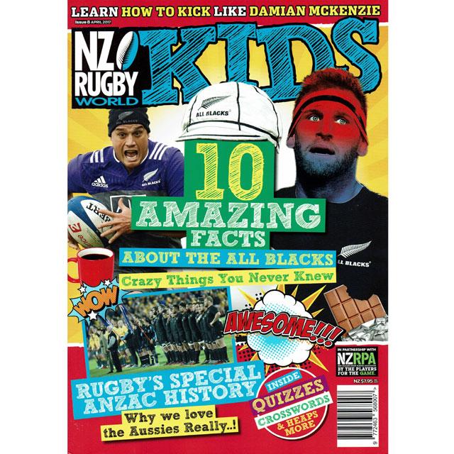 NZ RUGBY KIDS ISSUE No.8