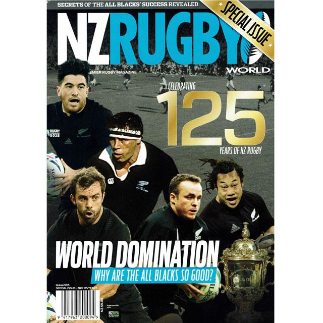 NZ RUGBY NZR125YERAS SPECIAL ISSUE