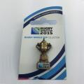 RWC2015  ウェッブエリスカップ 3Dピンバッチ