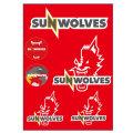 SUNWOLVES ウォールステッカー
