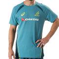 オーストラリア代表 ワラビーズ 2017 トレーニングTシャツ ラークスパー
