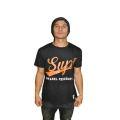 SUP2 Tシャツ FEDERATION ブラック/オレンジ