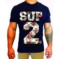 SUP2 Tシャツ NANA ネイビー