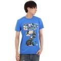 SUP2 Tシャツ アイランド柄 ブルー