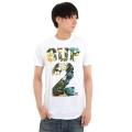 SUP2 Tシャツ アイランド柄 ホワイト