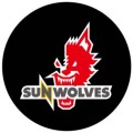 SUNWOLVES 缶バッジ (黒)
