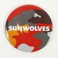 SUNWOLVES 缶バッジ (迷彩)