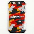SUNWOLVES iPhone ケース (迷彩) 6/6S
