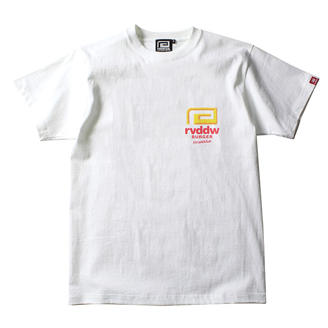rvddw BURGER COTTON TEE