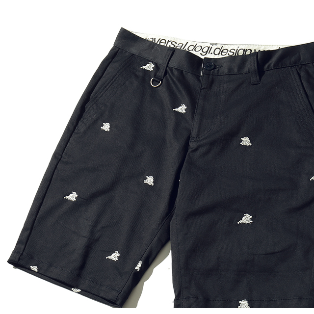 WARRIOR EMB SHORT PANTS